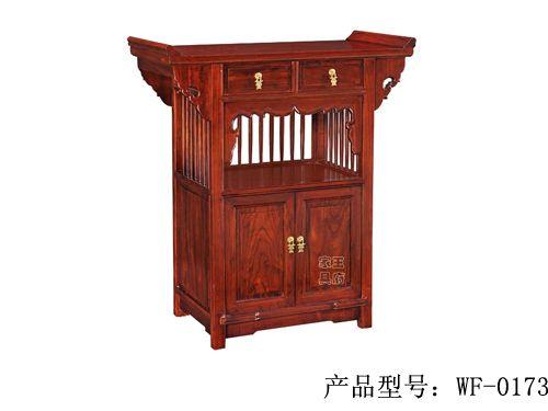 香河中式古典家具佛龛厂家wf-173