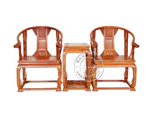 香河仿古明清榆木圈椅CJ-004