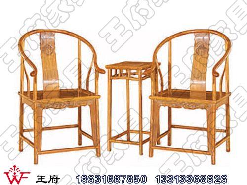 内蒙仿古圈椅定做WF休闲椅004