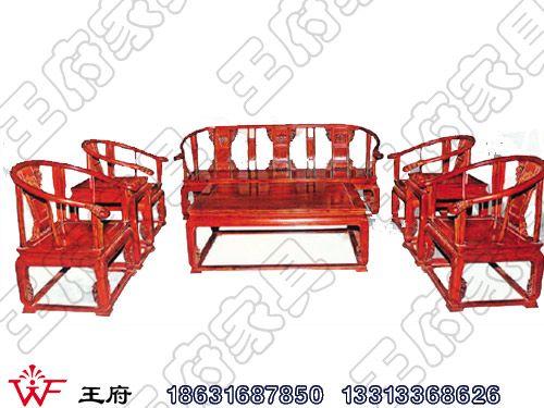香河中式沙发定制SF-16