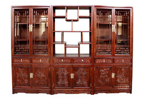 北京仿古书柜厂家WF书柜001