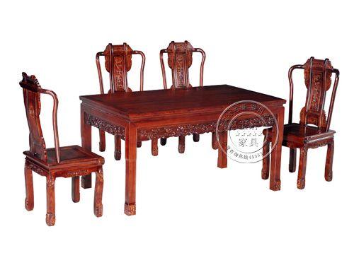 香河仿古餐厅桌椅厂家CTZY-3