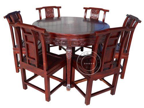 北京仿古餐厅桌椅制作CTZY-6