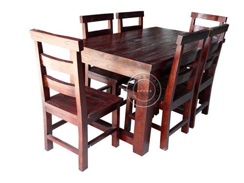 北京仿古餐厅桌椅批发CTZY-13