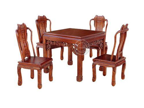 老榆木家具餐桌CTZY-16