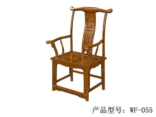 WF餐椅006香河仿古餐厅桌椅批发