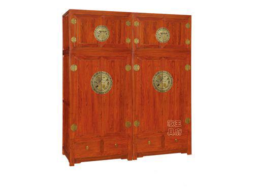 WF衣柜001古典卧室衣柜