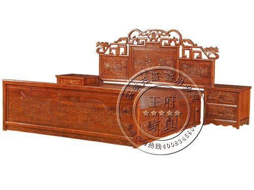 北京仿古卧室床制作FGC-5