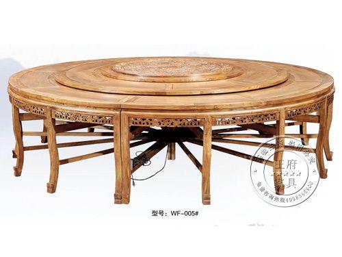新古典电动餐桌定制wf-005