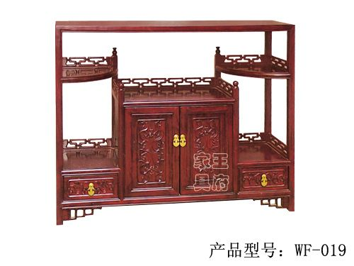 仿古老榆木备餐柜wf-019