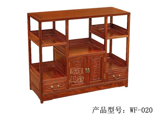 中式酒店老榆木备餐柜wf-020