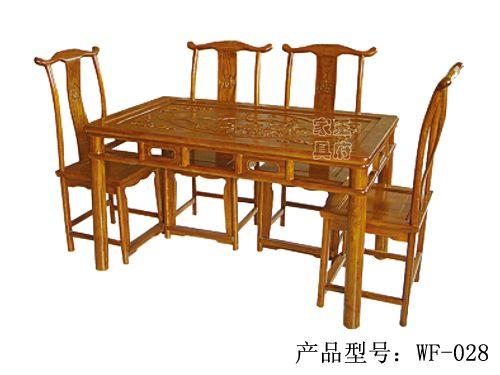 中式古典老榆木定制wf-028