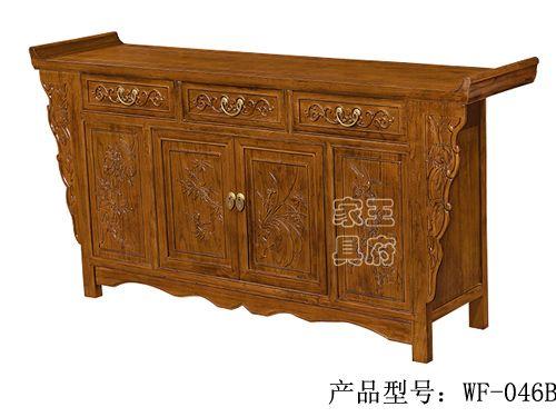 北京老榆木备餐柜批发wf-046b