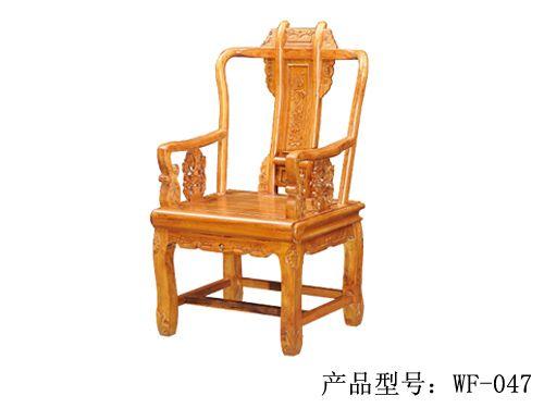 北京酒店会所老榆木餐椅WF餐椅001