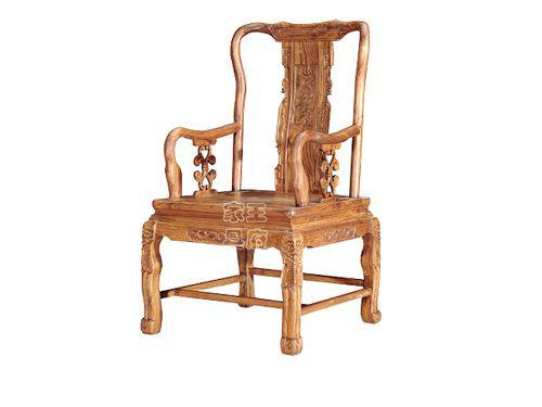 仿古中式老榆木餐椅WF餐椅003