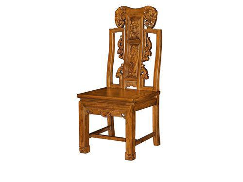 老榆木复古餐椅定做WF餐椅005