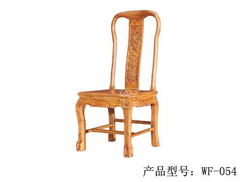 仿古中式餐厅座椅定做wf-054