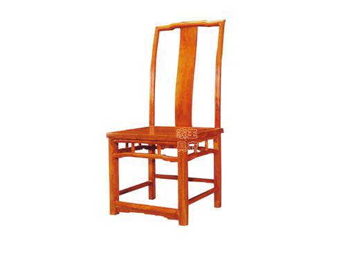 北京中式会所座椅WF餐椅009