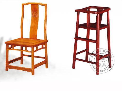 香河中式会所座椅厂家WF餐椅010