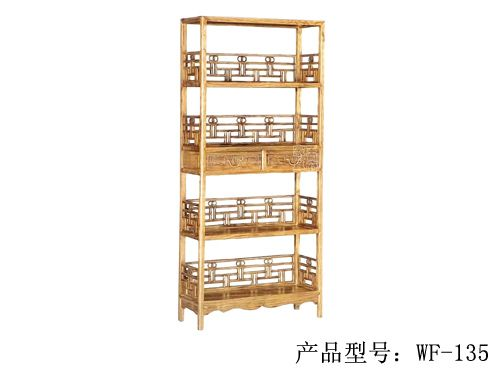 仿古中式榆木书柜wf-134