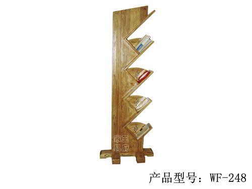 榆木中式仿古书架wf-248
