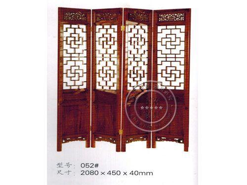 中式屏风隔扇