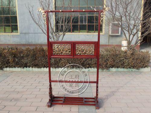 北京香河老榆木衣帽架价格
