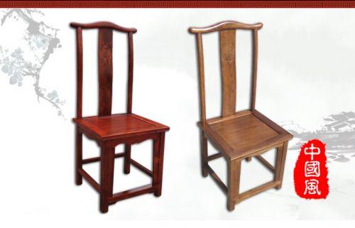 明清仿古老榆木家具厂家餐椅wf-057