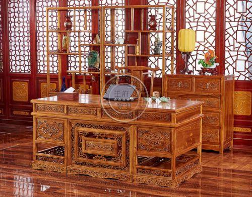 北京古典榆木书柜价格-王府老榆木家具厂家批发