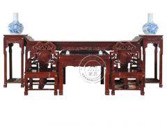 香河简约中式榆木茶几wf-084