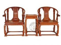 香河中式古典老榆木茶几WF休闲椅003