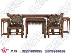 香河明清圈椅茶几批发wf-084