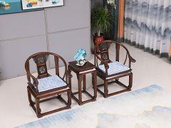 天津老榆木圈椅价格
