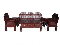 香河中式沙发厂家SF-6