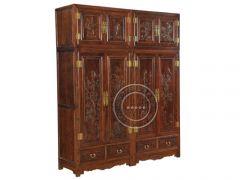 内蒙古典卧室衣柜价格YG-24