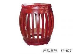 老榆木中式小古凳wf-077