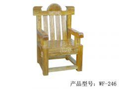 榆木中式户外座椅wf-246