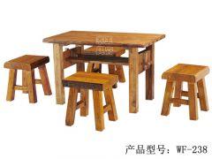 香河仿古中式户外餐桌椅wf-238