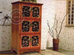 香河彩绘榆木家具