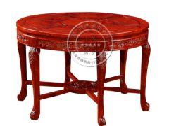 中式古典圆形餐桌