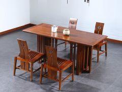 新中式榆木长条桌