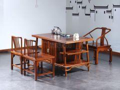 新中式老榆木茶桌价格