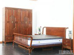 新中式卧室床