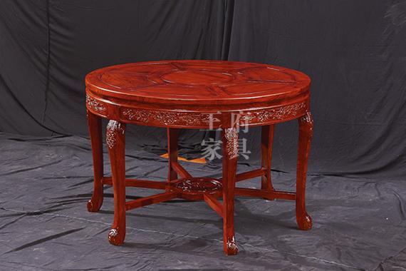 香河老榆木家具餐桌