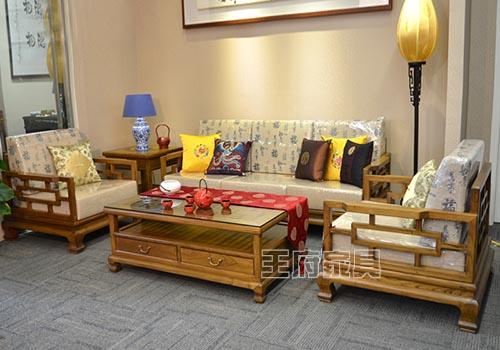 如何摆放中式老榆木家具好看-北京香河中式仿明清家具