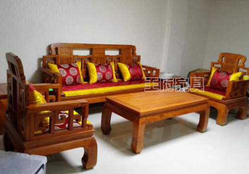 香河榆木沙发价格