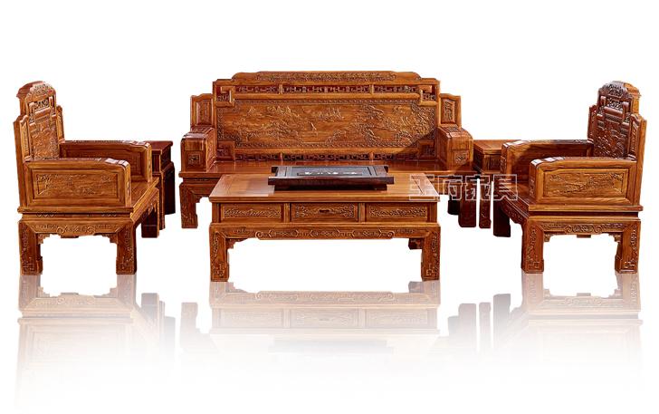 中式老榆木家具厂
